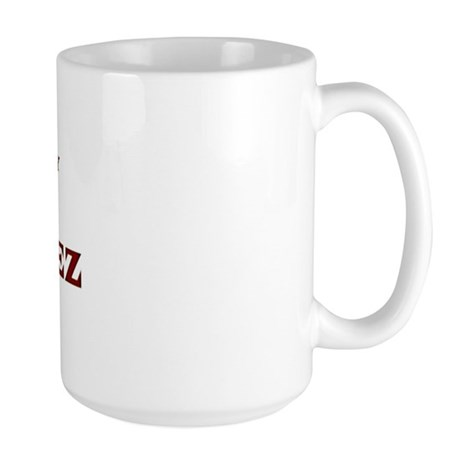 Property of Team Gonzalez Large Mug