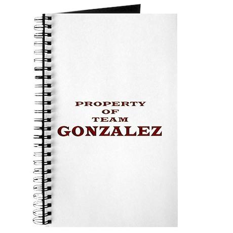 Property of Team Gonzalez Journal