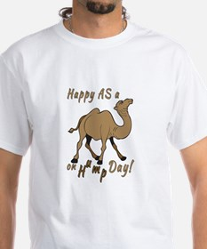 Happy AS A a Camel on Hump Day Shirt