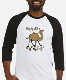 Happy AS A a Camel on Hump Day Baseball Jersey