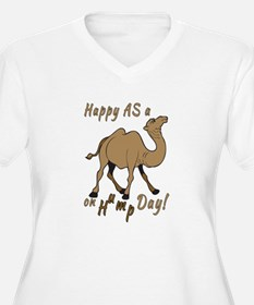 Happy AS A a Camel on Hump Day T-Shirt