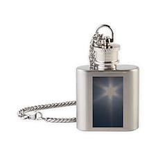 Star Sun Flask Necklace