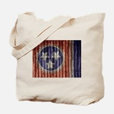 Tennessee State Flag Tote Bag