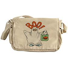 HALLOWEEN BOO GHOST Messenger Bag