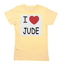 I heart Jude Girl's Tee