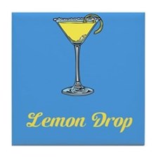 Lemon Drop Tile Coaster