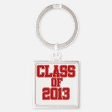 Class of 2013 Square Keychain