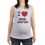 GRAND_JUNCTION.png Maternity Tank Top