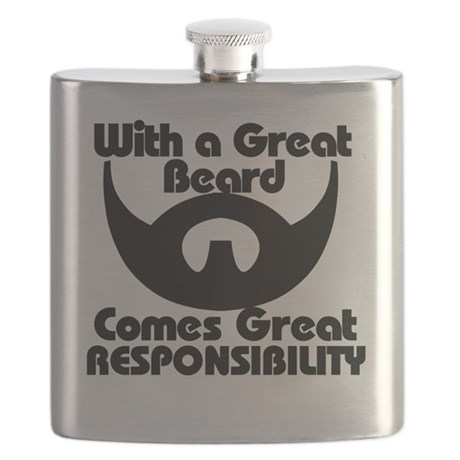 With a great beard Flask