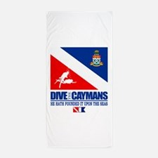 Dive The Caymans Beach Towel