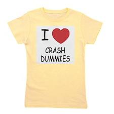 I heart crash dummies Girl's Tee