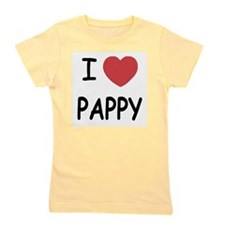 I heart pappy Girl's Tee