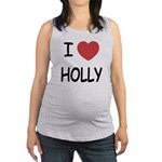HOLLY.png Maternity Tank Top