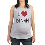 DINAH.png Maternity Tank Top