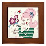 """Framed Tile """"Zoe"""""""