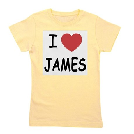 JAMES.png Girl's Tee