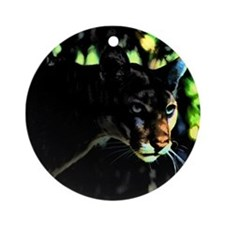 Florida Panther Ornament (Round)