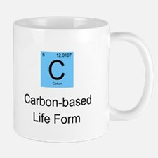 Carbon-based Life Form Small Mugs