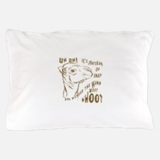 What Day is it HumpDay Camel Pillow Case