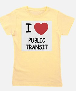 PUBLICTRANSIT.png Girl's Tee