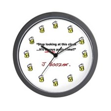 J Boozer Wall Clock
