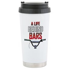 BMX A Life Behind Bars Travel Coffee Mug