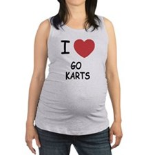GO_KARTS.png Maternity Tank Top