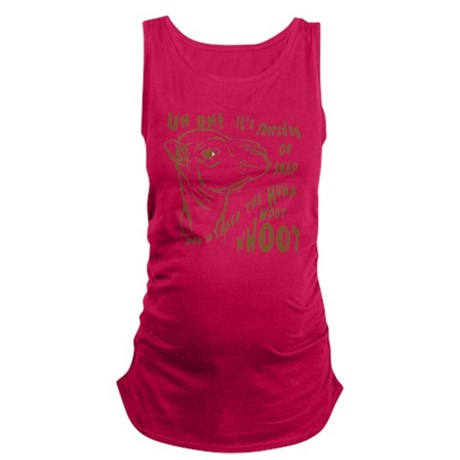 Hump Day Camel Whoot Woot Maternity Tank Top