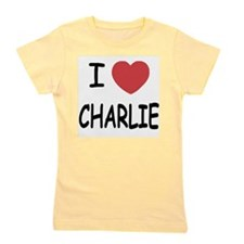 CHARLIE.png Girl's Tee