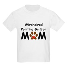 Wirehaired Pointing Griffon Mom T-Shirt