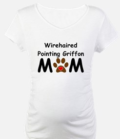 Wirehaired Pointing Griffon Mom Shirt