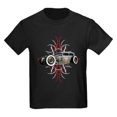 PinStripeRat1-tee blk T-Shirt