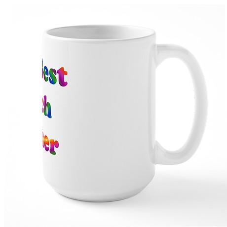 World's Best Speech Teacher Large Mug