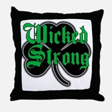 Wicked Strong Throw Pillow