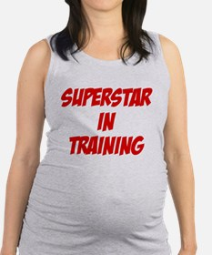 superstar.png Maternity Tank Top