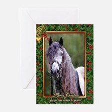 Lusitano Dressage Horse Christmas Greeting Cards (