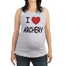 ARCHERY.png Maternity Tank Top