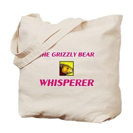 The Grizzly Bear Whisperer Tote Bag