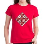 Folk Design 6 Women's Dark T-Shirt