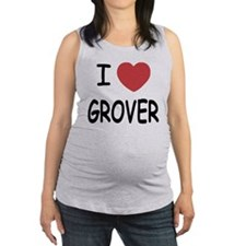GROVER01.png Maternity Tank Top