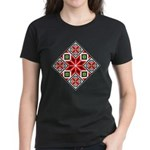 Folk Design 3 Women's Dark T-Shirt
