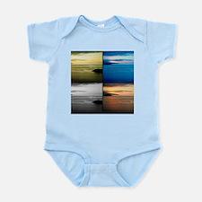 Quadriptych seascape Body Suit