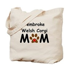 Pembroke Welsh Corgi Mom Tote Bag