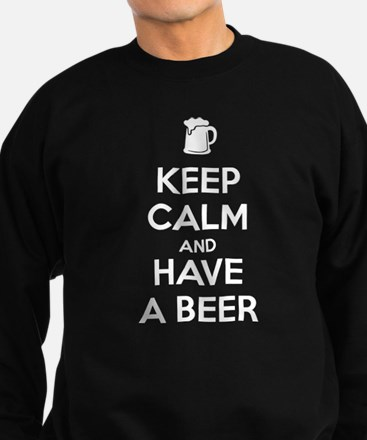 Keep Calm and Have a Beer Sudaderas