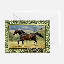 Morgan Horse Christmas Greeting Cards (Pk of 10)