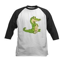 Thinking Crocodile Baseball Jersey