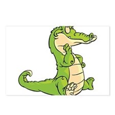 Thinking Crocodile Postcards (Package of 8)