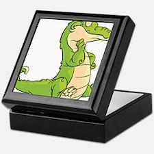 Thinking Crocodile Keepsake Box