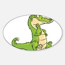 Thinking Crocodile Decal