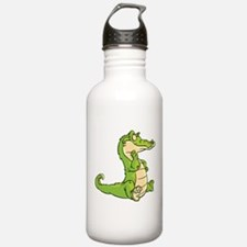 Thinking Crocodile Water Bottle